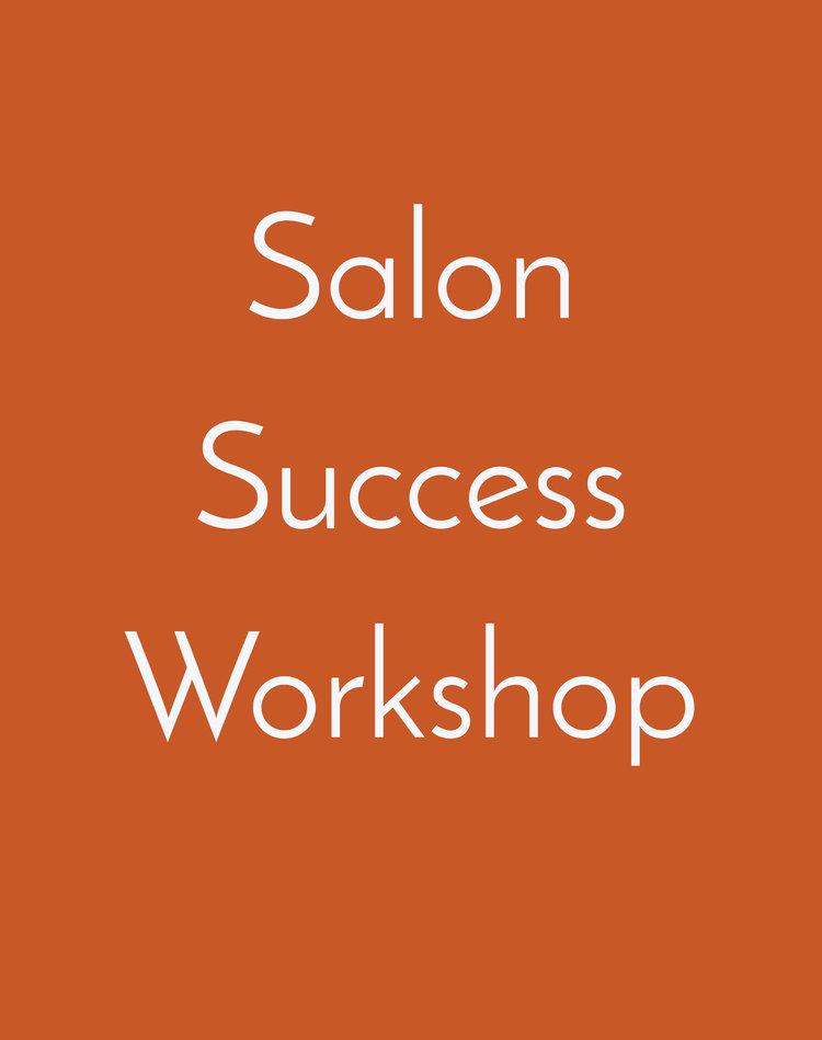 Salon Success Workshop