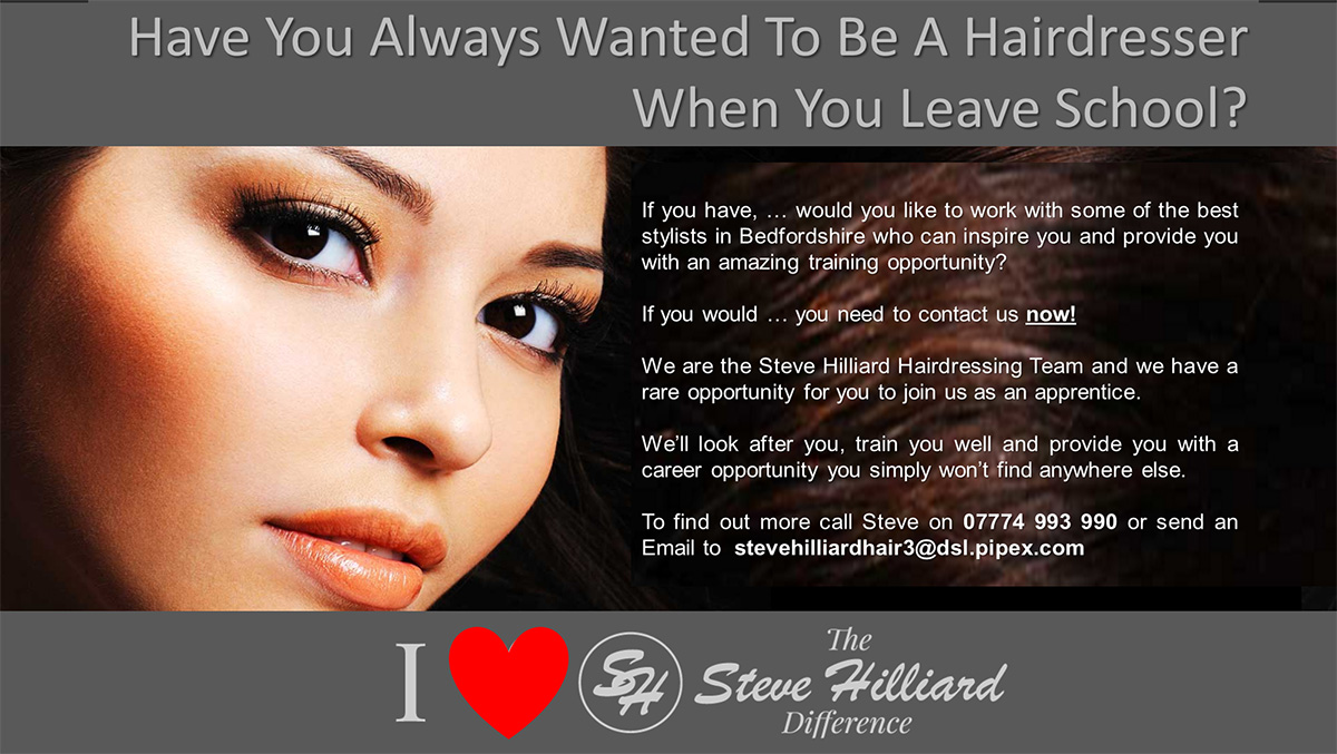Hairdresser in Luton and Hairdresser in Ampthill
